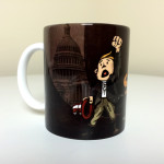 """Stand and Fight"" Mug, Front"