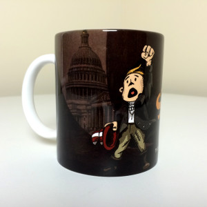 """""""Stand and Fight"""" Mug, Front"""