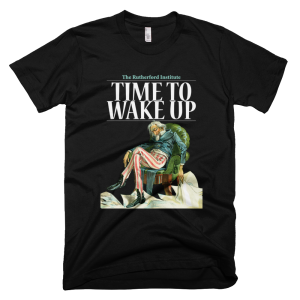 """Time to Wake Up"" Black"