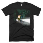 """Don't Be Left in the Dark"" T-Shirt"